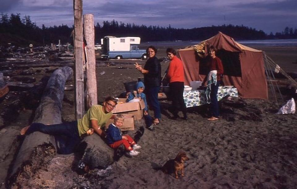 Tenting at Tofino