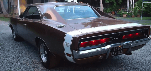 Charger's taillights