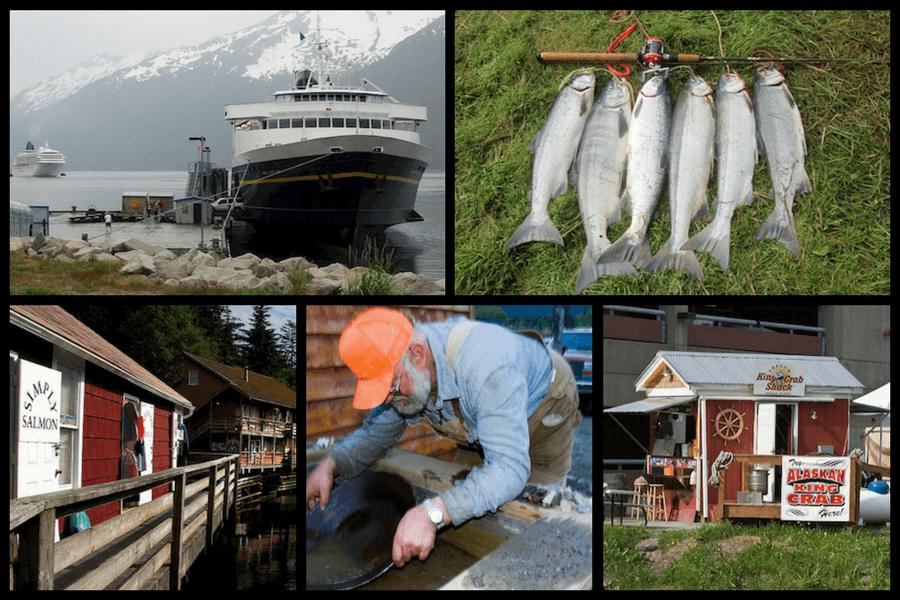 Attractions Yukon and Alaska