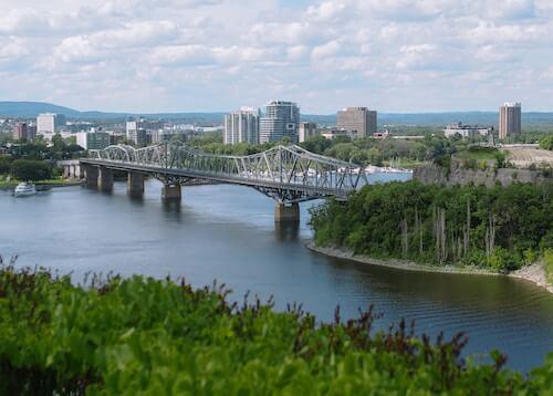 Bridege to Quebec City unsplash Drew Coffman