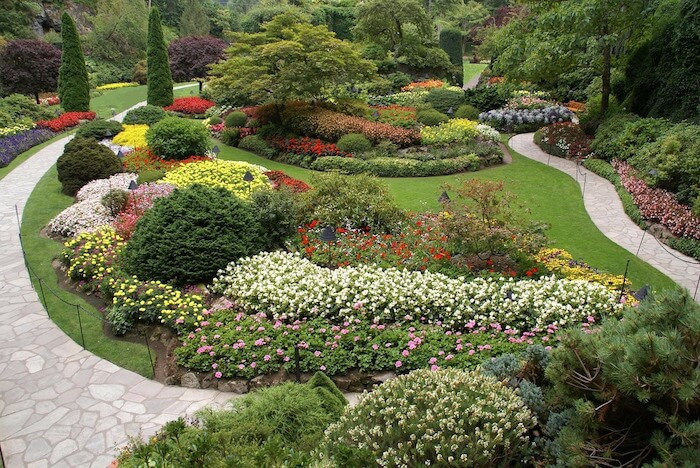 Butchart Gardens Walkways pixabay Photoman