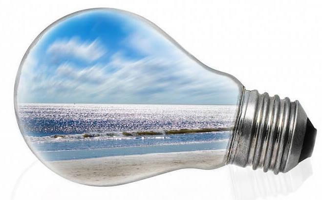 Light Bulb Ocean