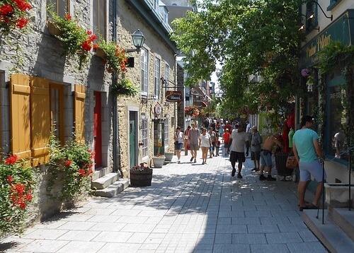 Old Quebec City pixabay breaktime