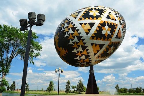 World's Largest Pysanka Egg pixabay Shaawsjank61